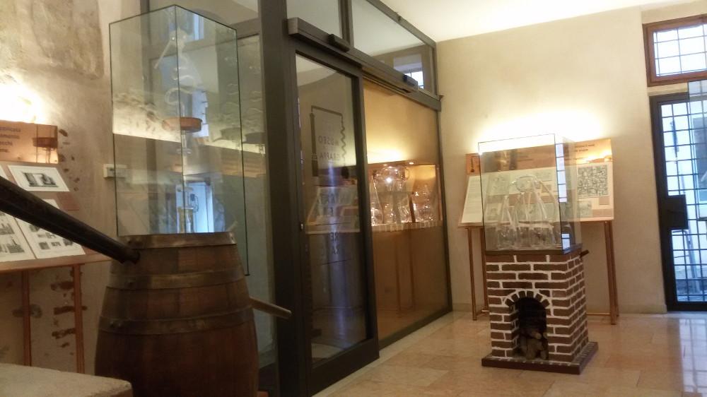 Porta scorrevole Museo della Grappa Bassano